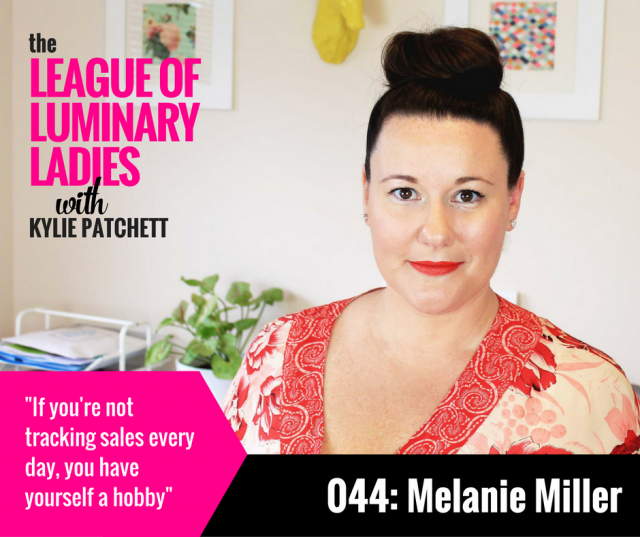 League of Luminary Ladies Podcast Interview with Melanie Miller and Kylie Patchett