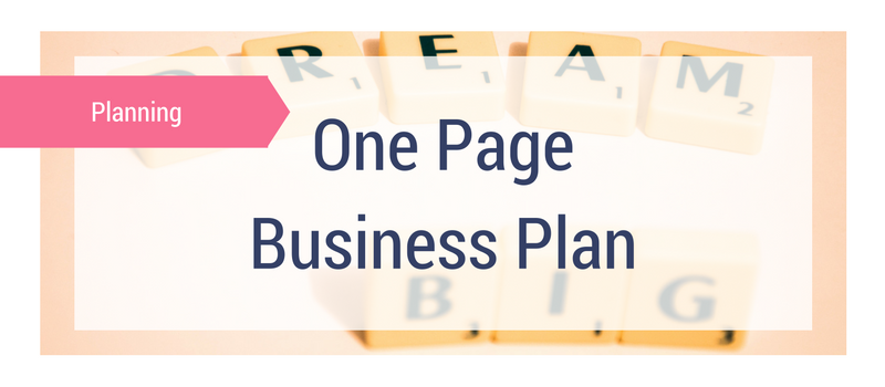 The one page business plan melanie miller the profit lovers the one page business plan melanie miller the profit lovers women in business flashek Gallery