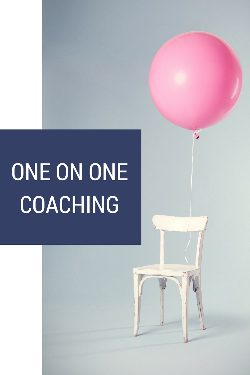 One on One business coaching for women