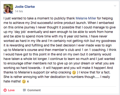 Testimonial Jodie Clarke The Empowered Educator