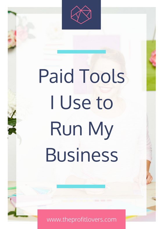 Paid tools I use to run my online online business for women