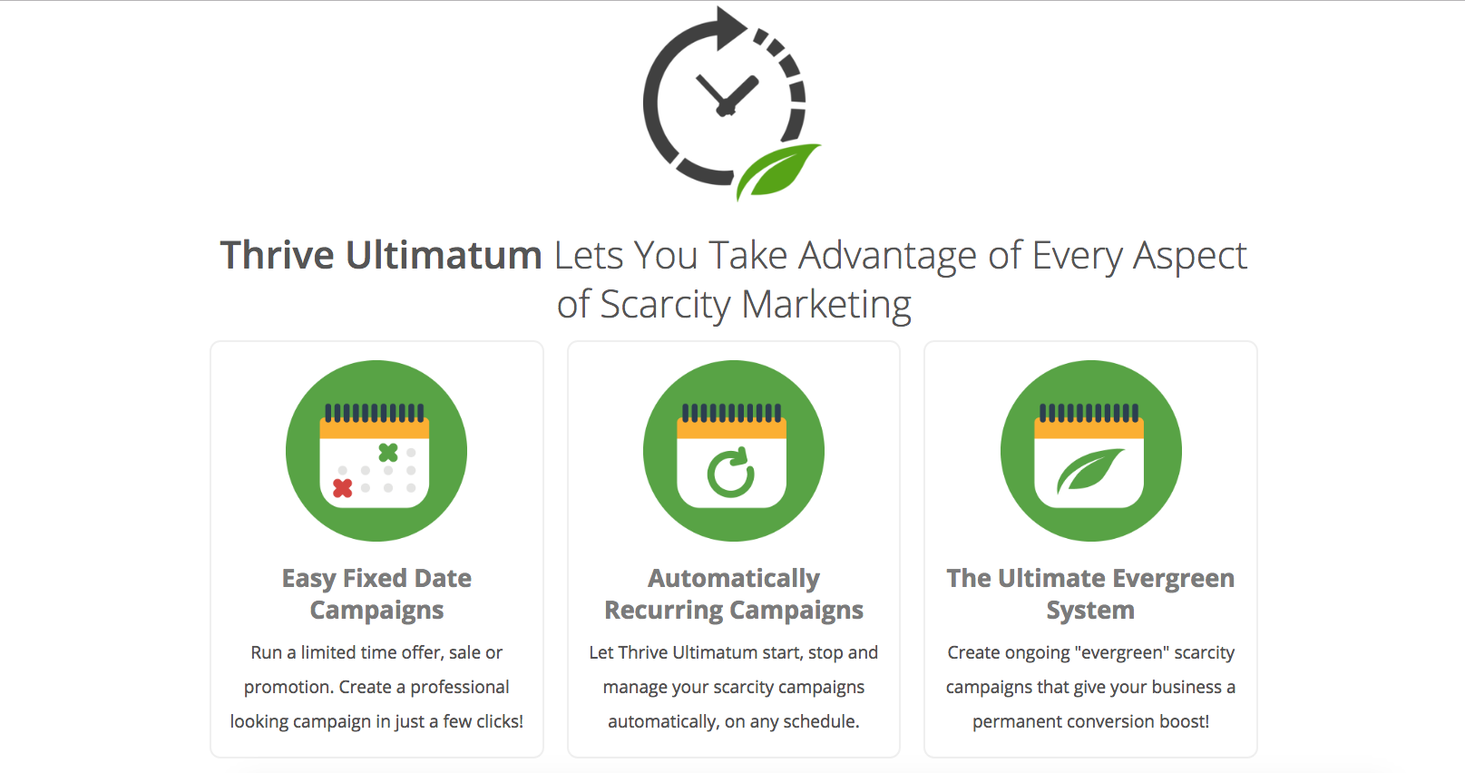 thrive ultimatum countdown timer wordpress plug in