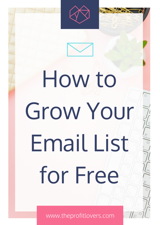 how to grow your email list for your ecourse launch business coach for women melanie miller the profit lovers