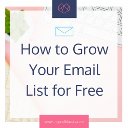 how to grow your list for free for your online course launch