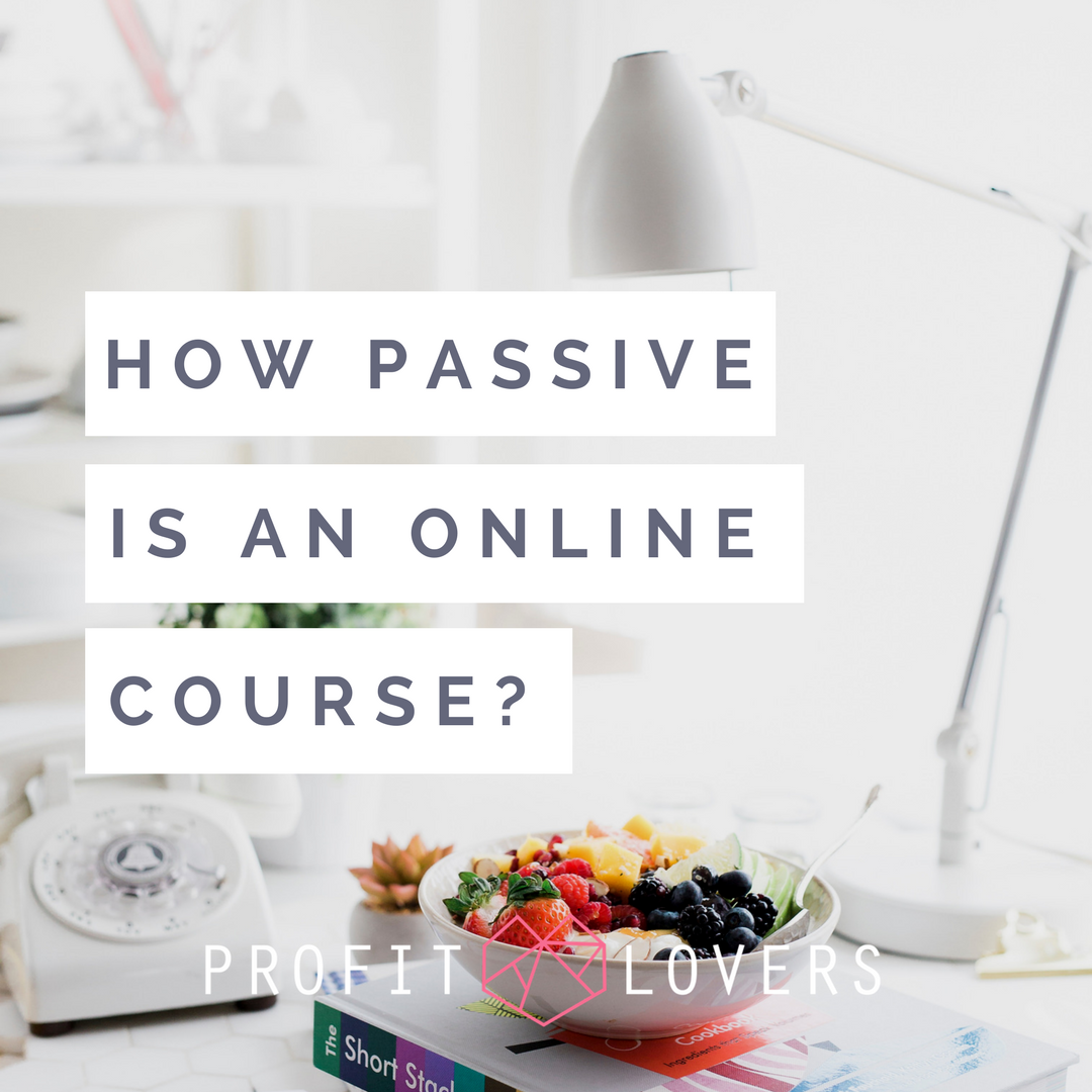 Passive income is it really possible to make money while you sleep with an online course