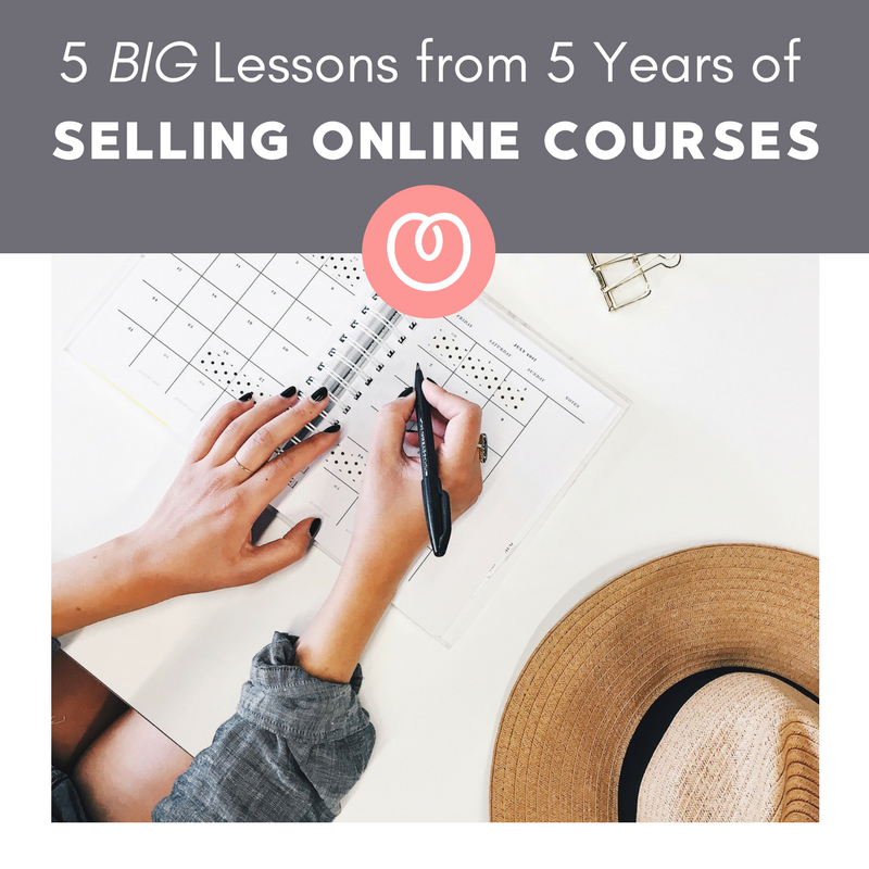 The five big lessons I learned during my five years as an online course business