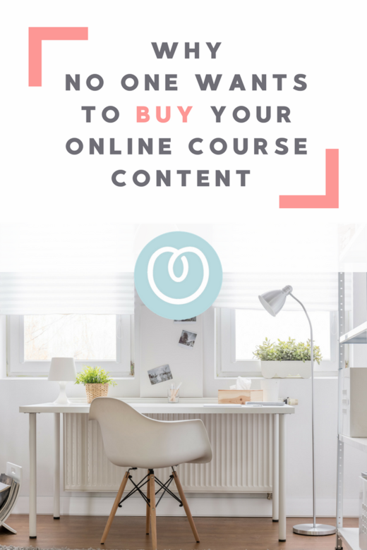Why no one wants to buy your online course content and how to sell the transformation instead Melanie Miller The Profit Lovers Business Coach for Women