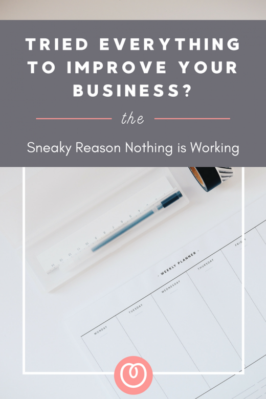 Sick of feeling like you have tried everything to improve your business but nothing is working? There is a sneaky reason your efforts might be failing. Check out the blog post written by Melanie Miller, Business Coach for Women , The Profit Lovers