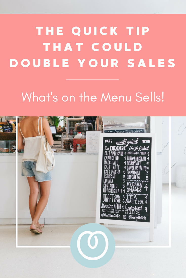 Double your sales by ensuring your customers know everything you sell