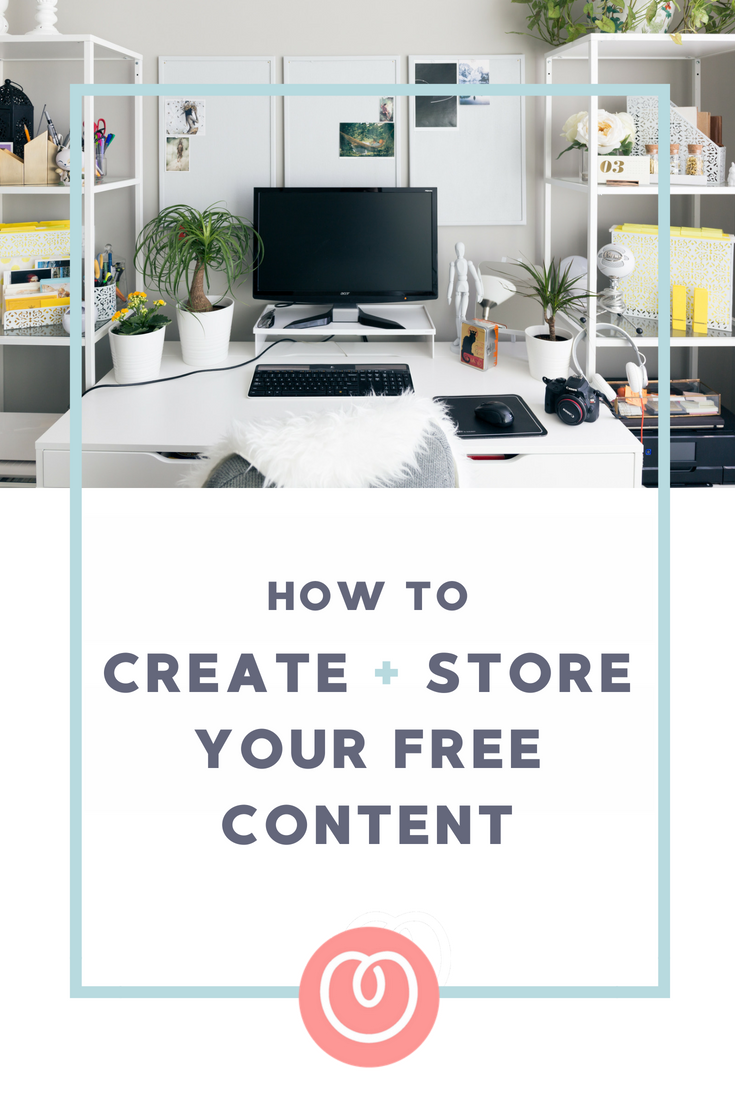 The tools you can use to create and store downloadable content for your free opt ins