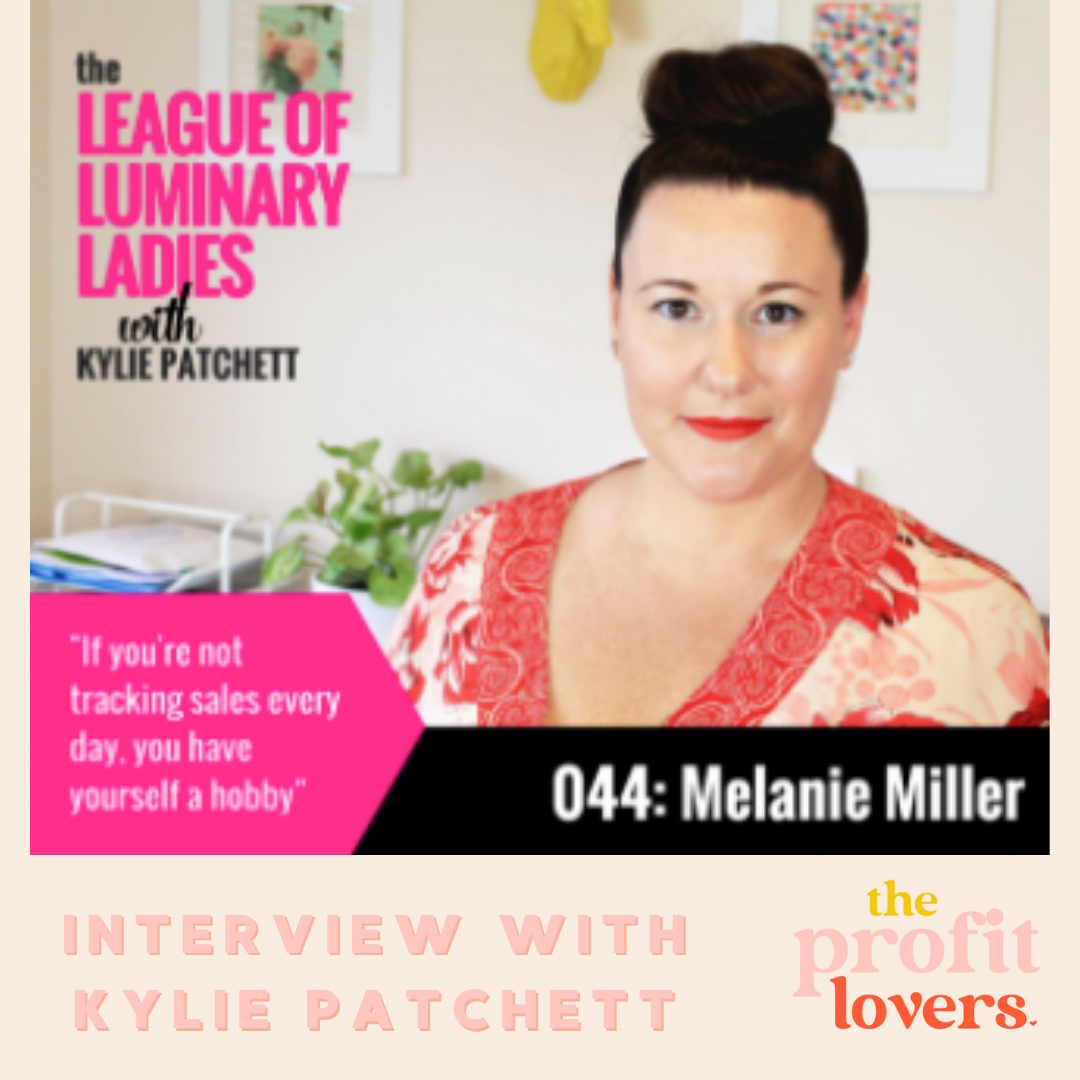 league of luminary ladies with melanie miller